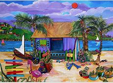 Island Time Painting by Patti Schermerhorn