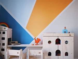 Kinderzimmer Gestalten Wand : wandgestaltung im kinderzimmer eine kunterbunte kreative ecke f r den gro en jungen werbung ~ Markanthonyermac.com Haus und Dekorationen