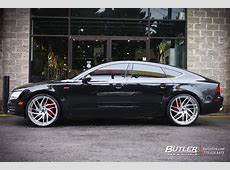 Audi A7 with 22in Savini SV62d Wheels exclusively from