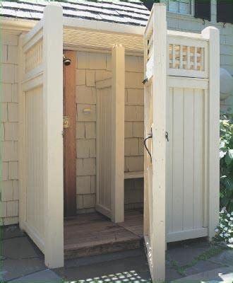 Prefab Outdoor Shower Enclosures outdoor shower enclosure kits landscaping network