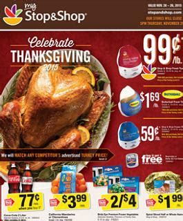 For every store succumbing to pressure to remain open, there's an individual, group or business working to halt the 'holiday creep' threatening to turn thanksgiving day into an extension of the black. Stop and Shop Weekly Ad 11/20 - 11/26/2015. Celebrate Thanksgiving 2015