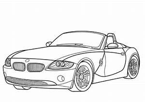 coloriage bmw z4 cabriolet coloriages a imprimer gratuits With bmw e36 m3 turbo
