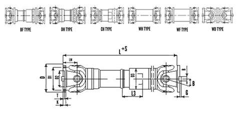 unique couplings cardan shaft couplings cross universal coupling