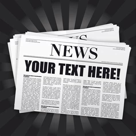 elements  newspaper design vector graphics  vector