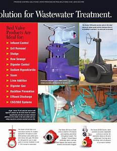 Red Valve Solutions Guide For Wastewater Treatment Facilities