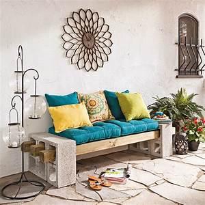 recup et fait maison des idees recup et deco decorer son With decorer un mur exterieur 7 idees pour decorer un salon avec des meubles de rangement