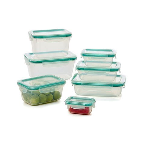 OXO Snap 30 Piece Glass/Plastic Storage Set in Food