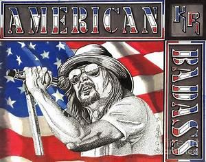 Kid Rock American Badass Drawing by Cory Still