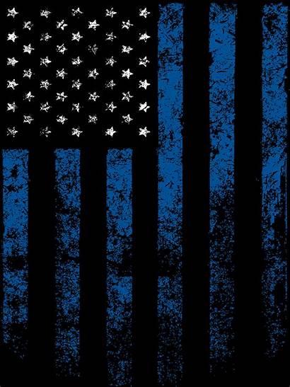 Thin Line Flag Police Box Keepsake Wallpapers