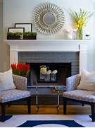 Fireplace Brick Fireplace Remodel Fireplace Mantels Fireplace Ideas Washed Brick Fireplace Design Pictures Remodel Decor And Ideas Fresh Way To Decorate Your Fireplace Off Season Howtodecorate Logs