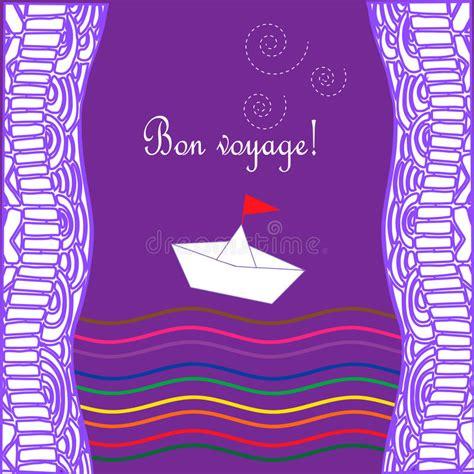 buon viaggio della vita testo carta con il viaggio felice delle onde della nave e