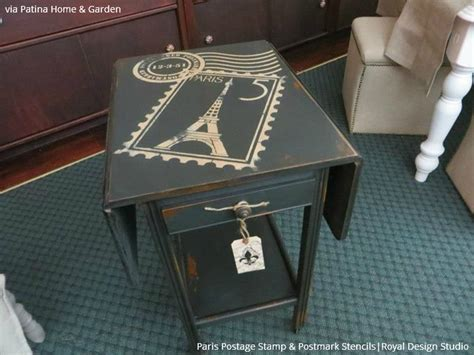 write on 10 amazing furniture painting ideas with letter