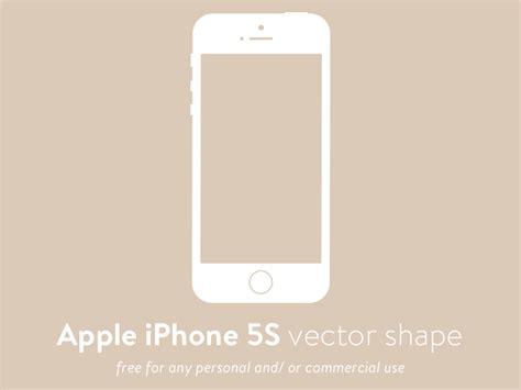 iphone 5s free apple iphone 5s svg vector shape svg freebie