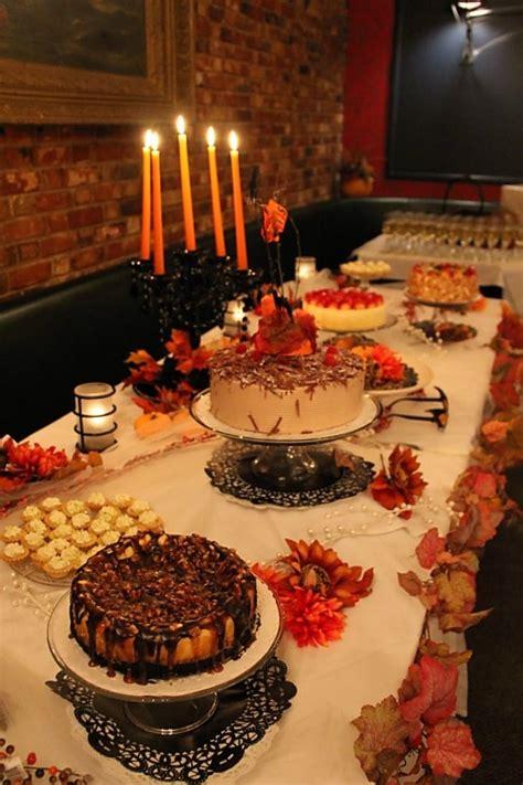 thanksgiving dessert table images  pinterest