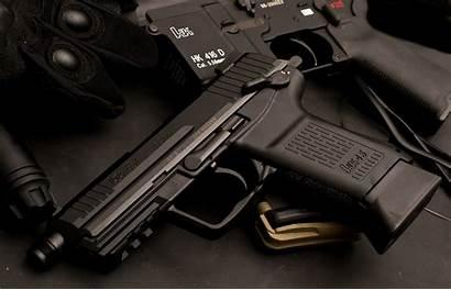 Heckler Pistol Koch Weapons 4k Wallpapers Background