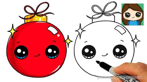 how to draw christmas balls how to draw a ornament easy and