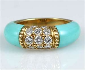 persian turquoise diamond ring With persian wedding rings
