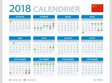 Calendrier 2018 des jours fériés en Chine — Chine Informations