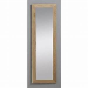 miroir nakato inspire chene l30 x h120 cm leroy merlin With miroir 100 x 120