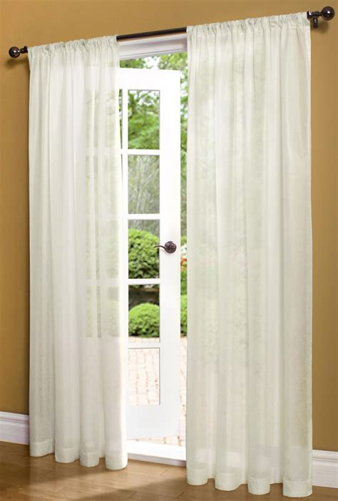 rod pocket curtains with attached valance lansbury solid