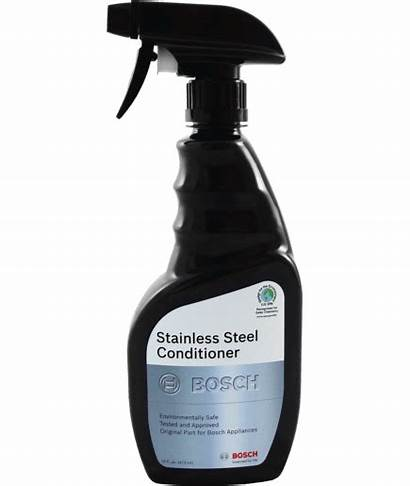 Stainless Bosch Steel Conditioner Cleaning Care