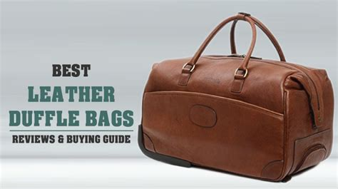 leather duffle bags  buy   recommended