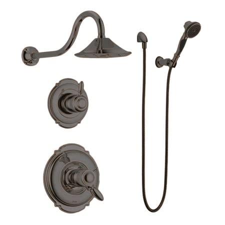 venetian bronze kitchen faucets delta tempassure shower package rb venetian