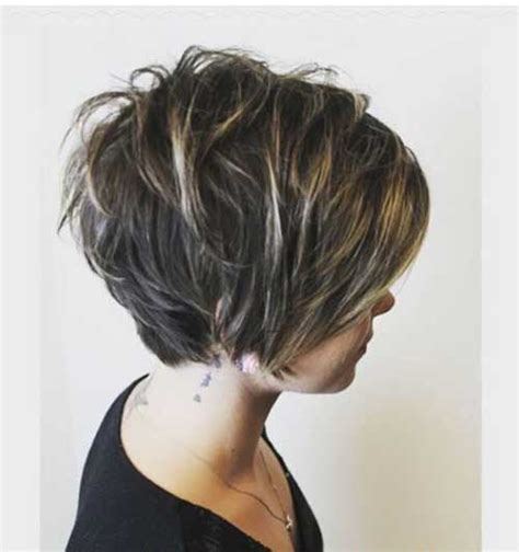 Longer Pixie Hairstyles by Pixie Cut Back View Hairstyle 2013
