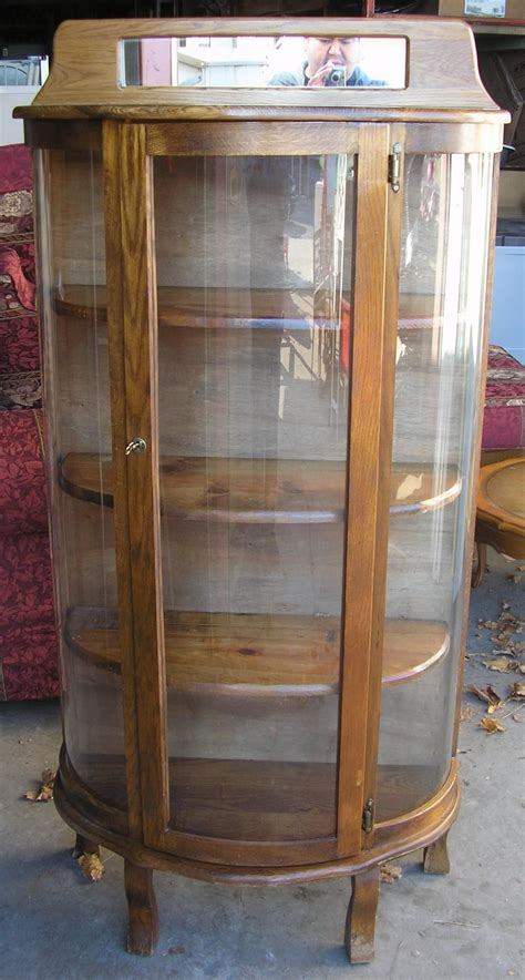 Half Cabinet by Half Moon Curio Cabinet Auction Items Cabinet China