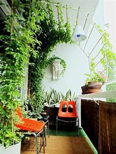 Amazing apartment balcony garden ideas furniture home for Apartment balcony garden