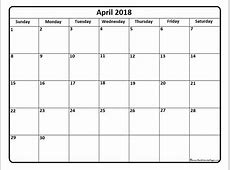 april 2018 printable calendar waterproof printable
