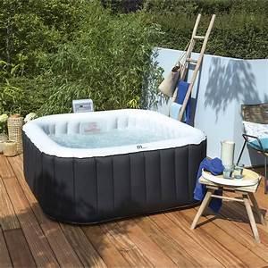 Spa Bois Exterieur : jacuzzi gonflable prix ~ Premium-room.com Idées de Décoration