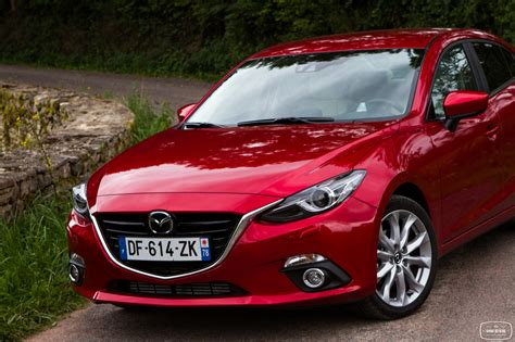 mazda 3 4 portes la nouvelle mazda 3 berline 224 l essai en finition s 233 lection