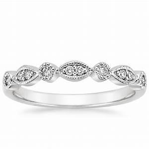 tiara diamond ring 1 8 ct tw in 18k white gold With tiara wedding ring