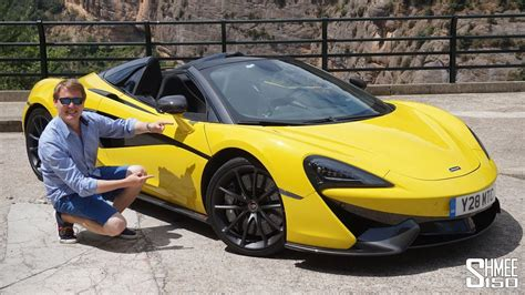 This Is The New Mclaren 570s Spider!