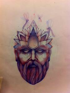 Head Man Tattoo Sketch | Creative ideas: Ink Inspirations ...