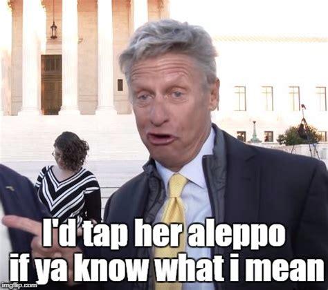 If Ya Know What I Mean Meme - drunken gary johnson imgflip