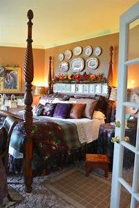 English, Country, Cottage, Bedroom