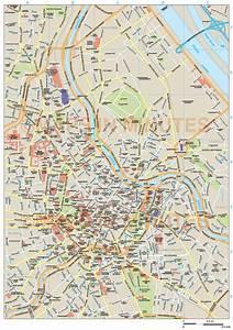 Royalty Free Vienna Illustrator Vector Format City Map