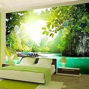 vlies fototapete 350x245 cm top tapete wandbilder With markise balkon mit tapet 3d living