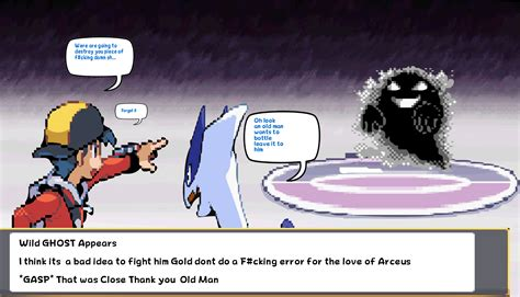 Gold And Lugia Vs Ghost Sprite Comic By