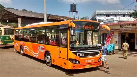 The state road transport company of karnataka state is ksrtc (karnataka state road transport corporation). KSRTC IMAGE DATABASE: KSRTC Volvo Bus at Erumely