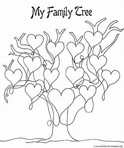 Kids Printable Family Tree - Coloring Home