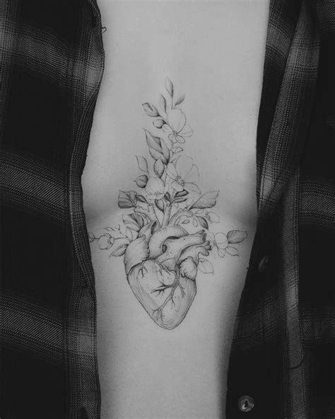 120+ Realistic Anatomical Heart Tattoo Designs for Men (2020) With Meanings | Tattoo Ideas 2020