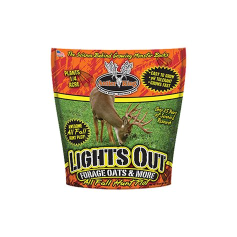 Lights Out Plot by Antler King Food Plot Seed Lights Out Walmart