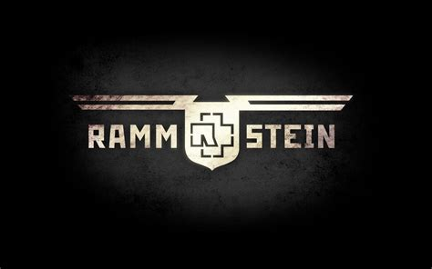 Rammstein Logo Music Wallpaper
