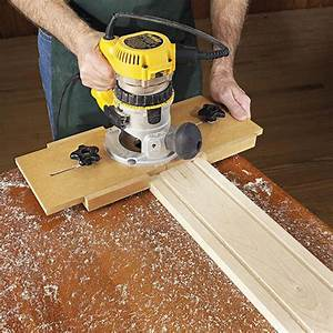 Right on the Money Fluting Jig Woodworking Plan from WOOD