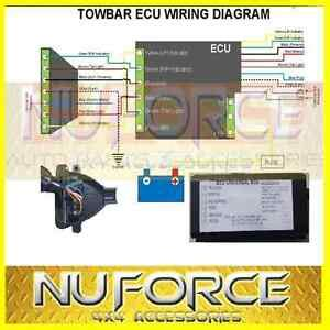 universal towing trailer ecu module chip harness wiring unit relay module ebay