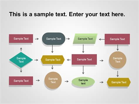 flow chart powerpoint template  flow chart powerpoint