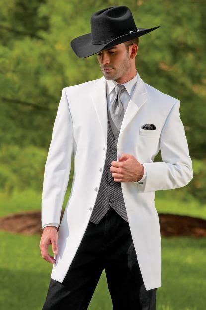 cowboy series white suitgroom wedding suit jacket